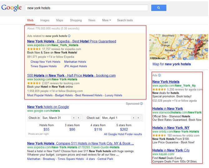 Paid SERP Listings