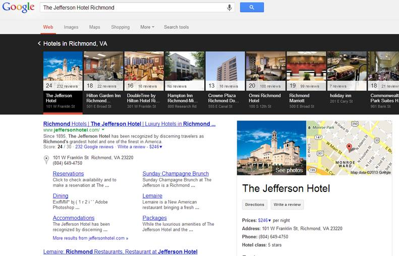the jefferson hotel in richmond