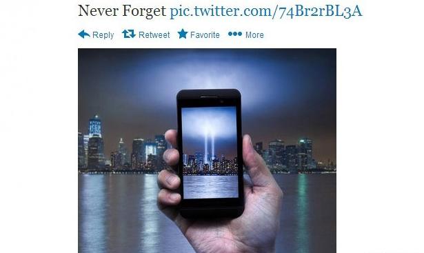 AT&T Tweet 9/11